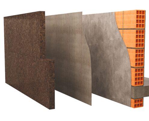 isolamento-termico-Cappotto-in-sughero-dettaglio